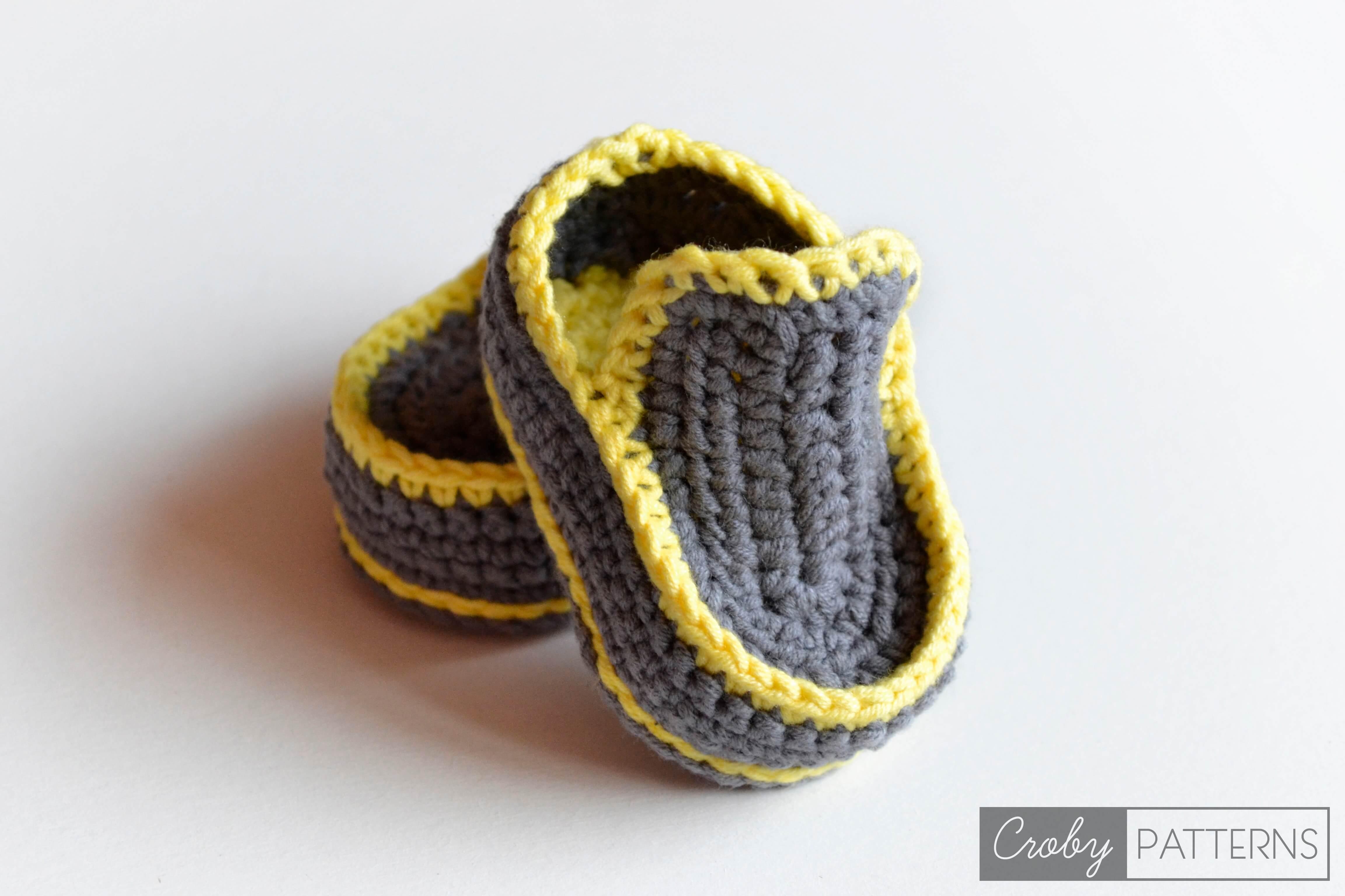 Enchanting Crochet Boy Booties Free Pattern Photo - Easy Scarf ...