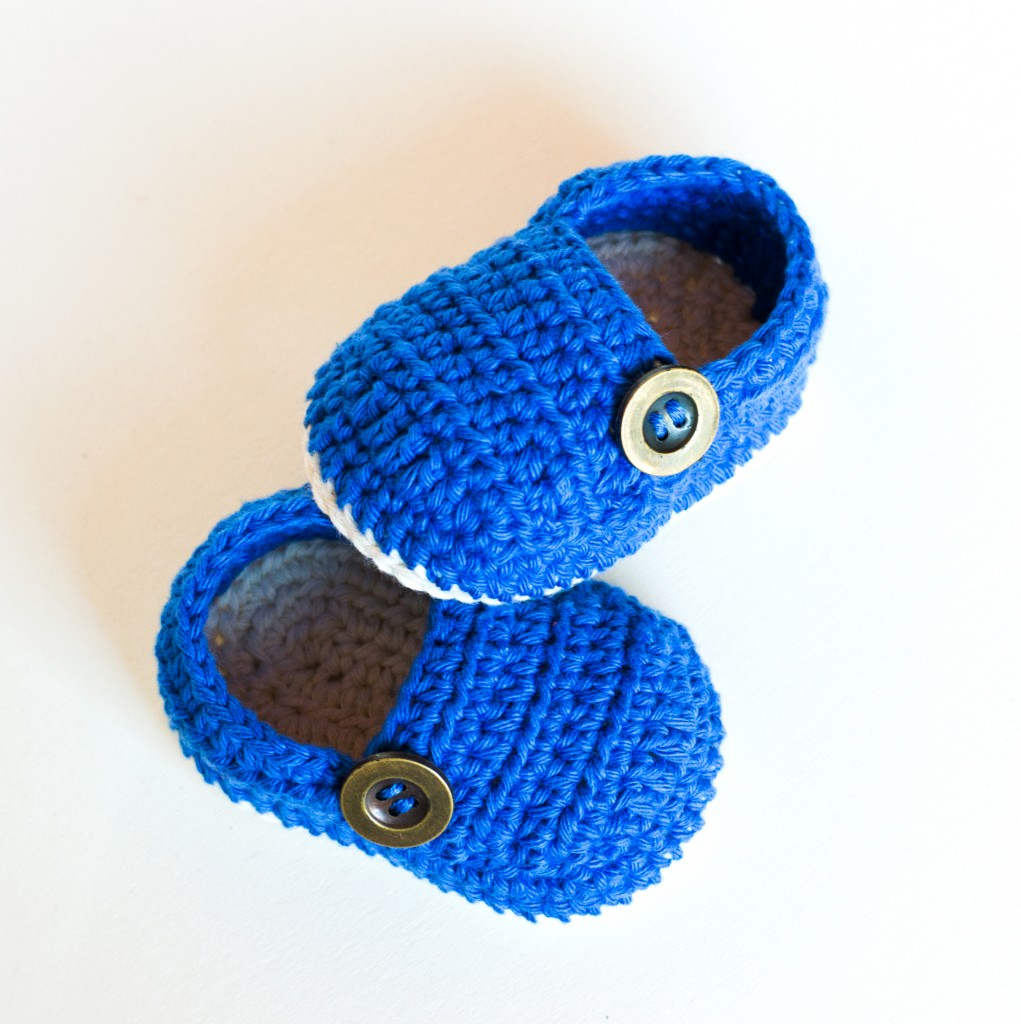 Crochet Baby Booties Written Pattern : Crochet Baby Booties ? GRANDPA SLIPPERS ? Croby Patterns