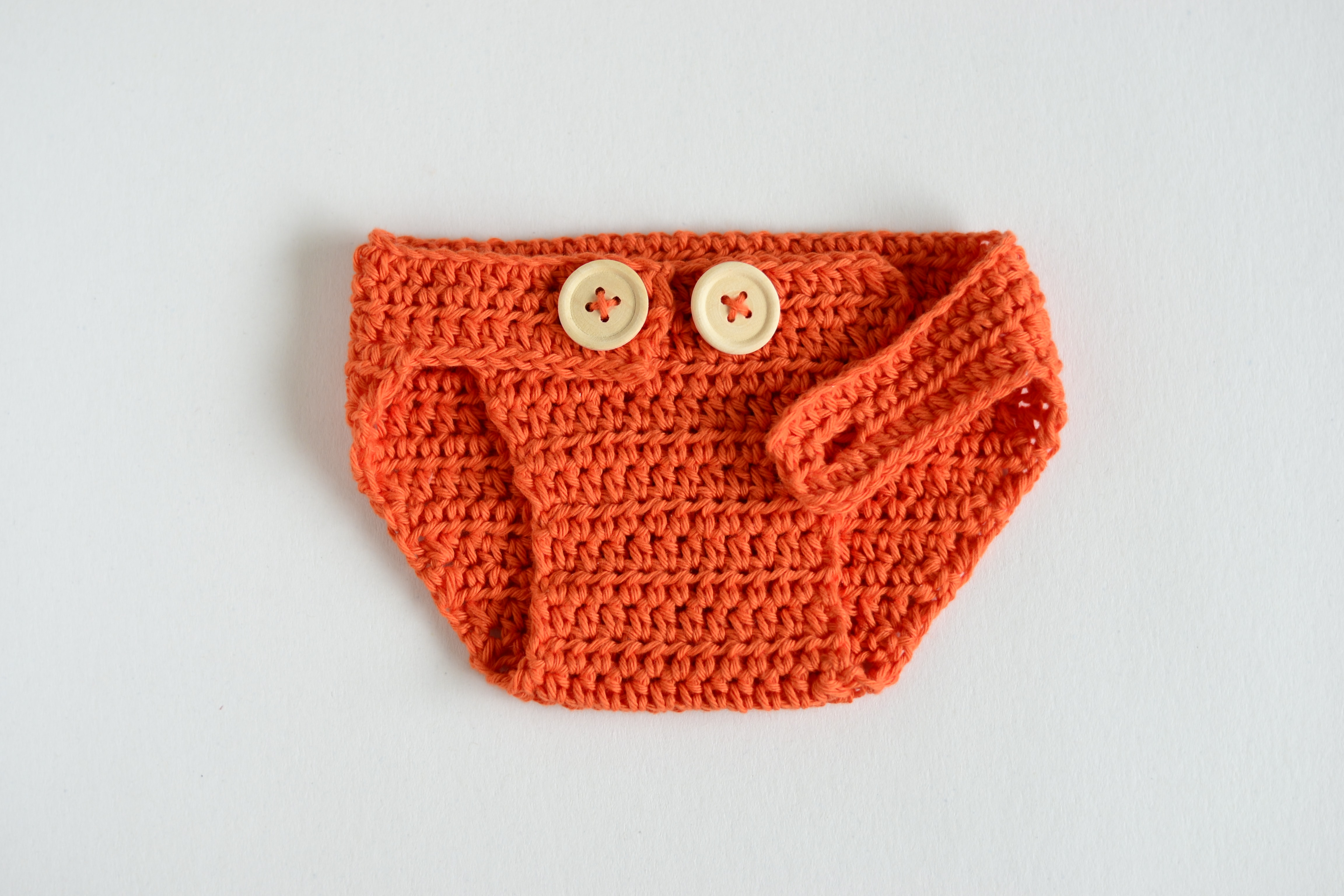 Crochet Baby Hat and Diaper Cover – Cute Fox – Croby Patterns