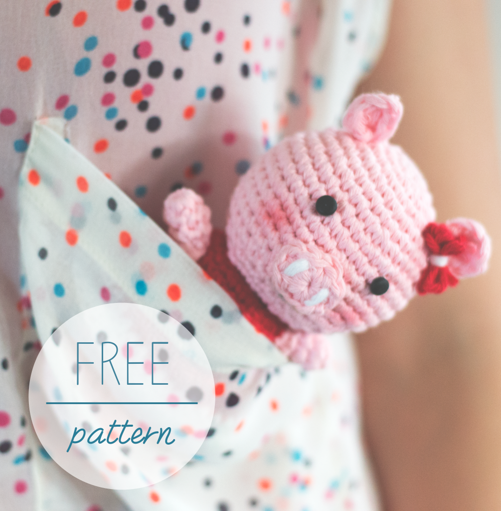 Croby Patterns FREE Crochet Pattern - Amigurumi Piggy Bella
