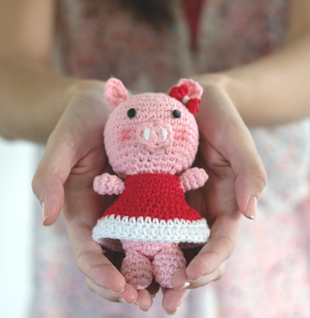 Crochet Amigurumi Pattern Piggy Bella by Croby Patterns