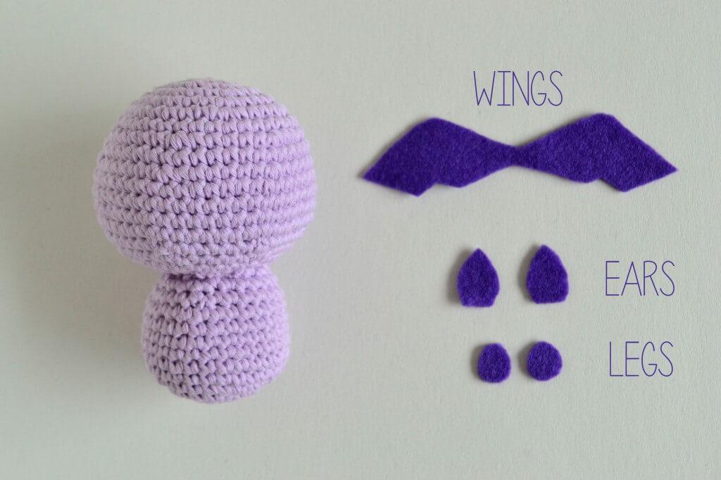 Amigurumi Bat by Croby Patterns