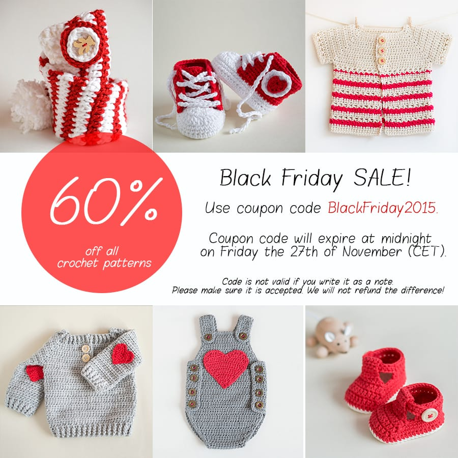 Big Black Friday Sale by Croby Patterns
