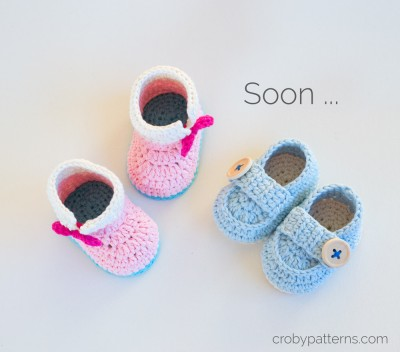 Baby Booties by Croby Patterns