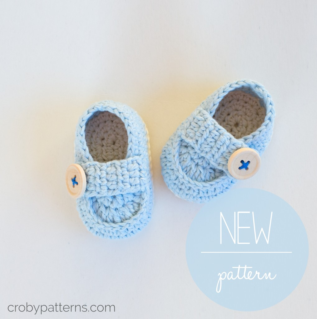Crochet Free Pattern Promotion Shop For Promotional: Cute Crochet Baby Loafers