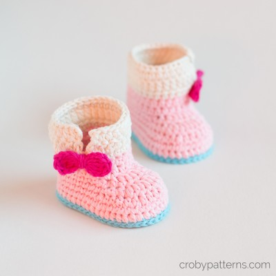 Baby Unicorn Booties