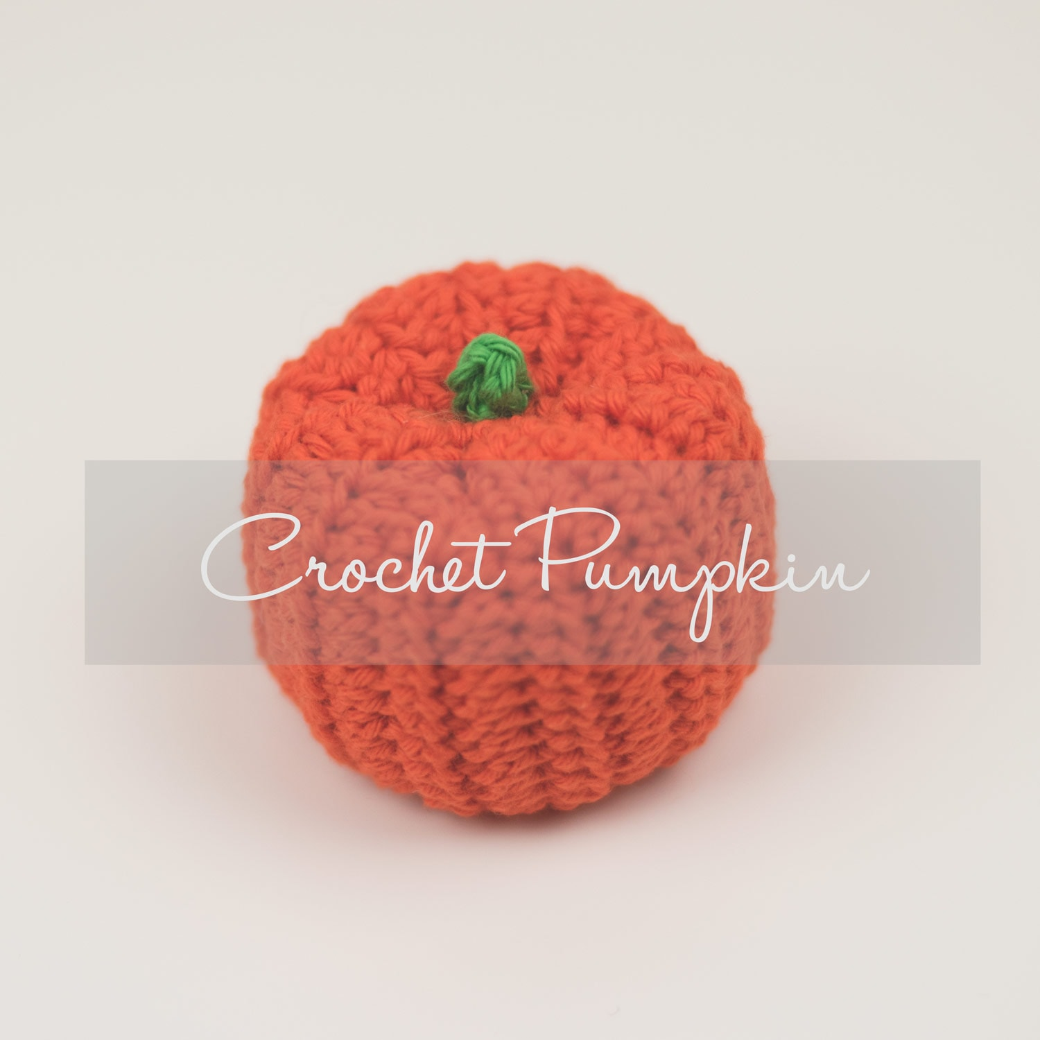 Crochet Pumpkin Pattern by Croby Patterns