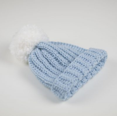 Crochet Baby Beanie by Croby Patterns