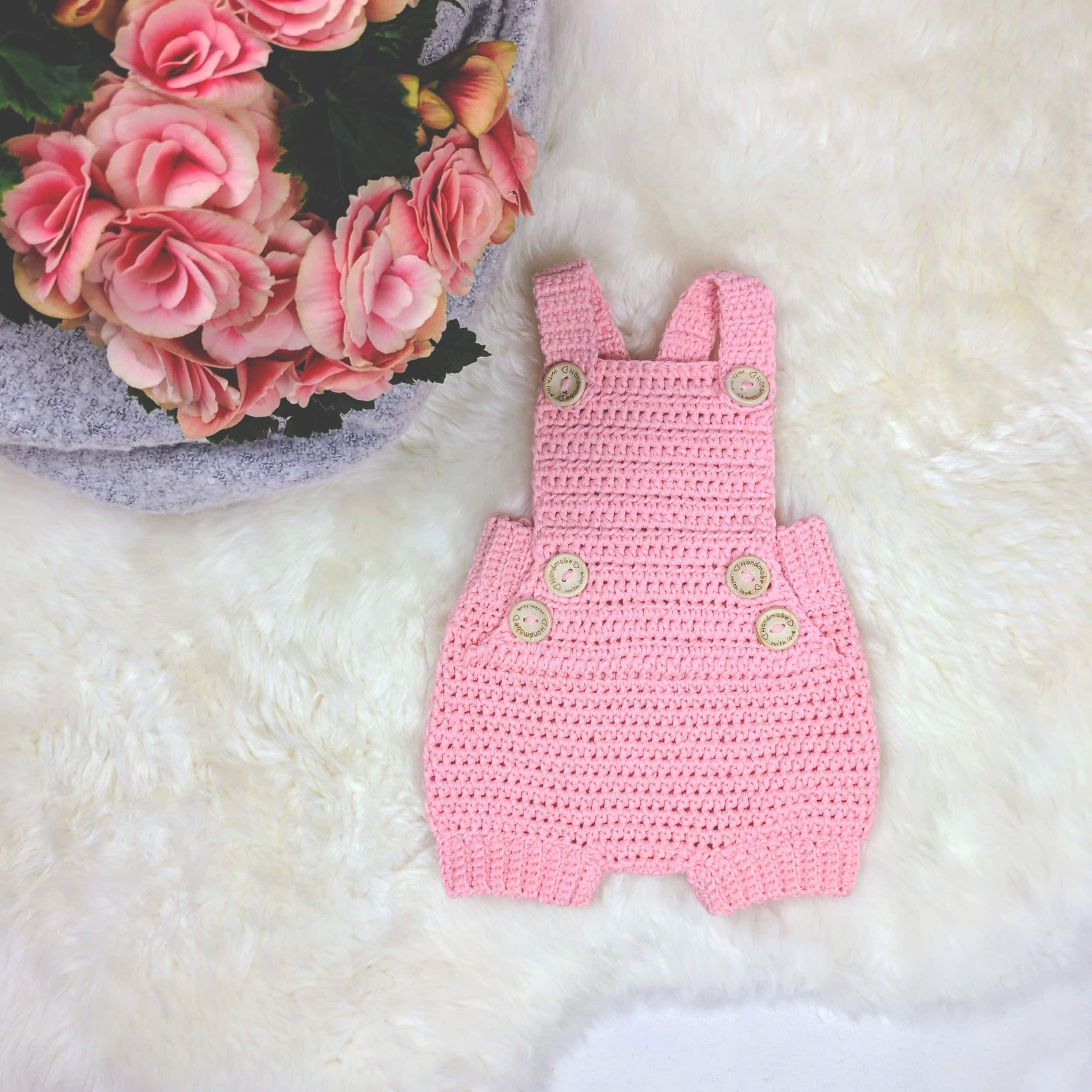 Crochet Baby Romper Pure Happienss ? Croby Patterns