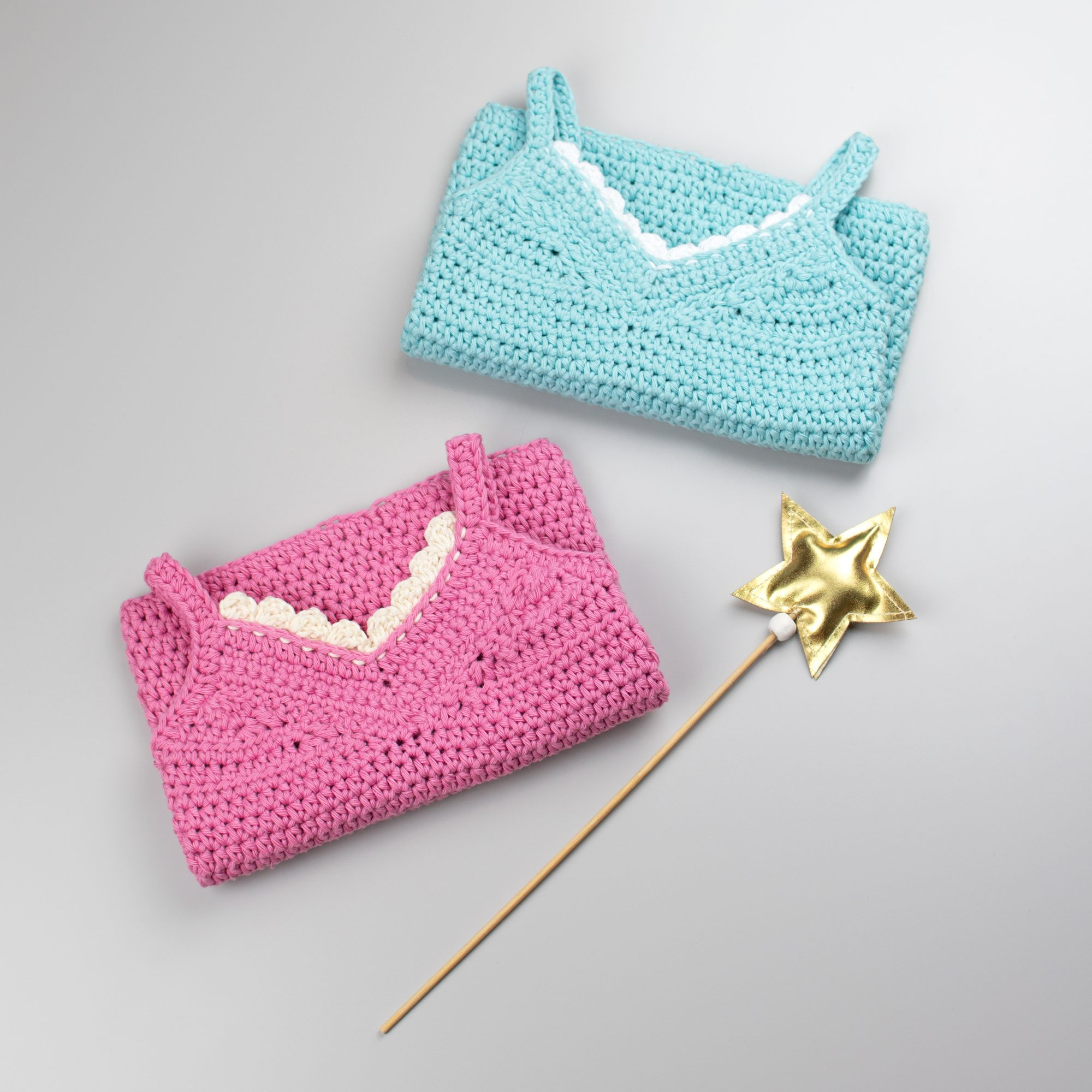 Crochet Baby Top Little Lace Tank – Croby Patterns