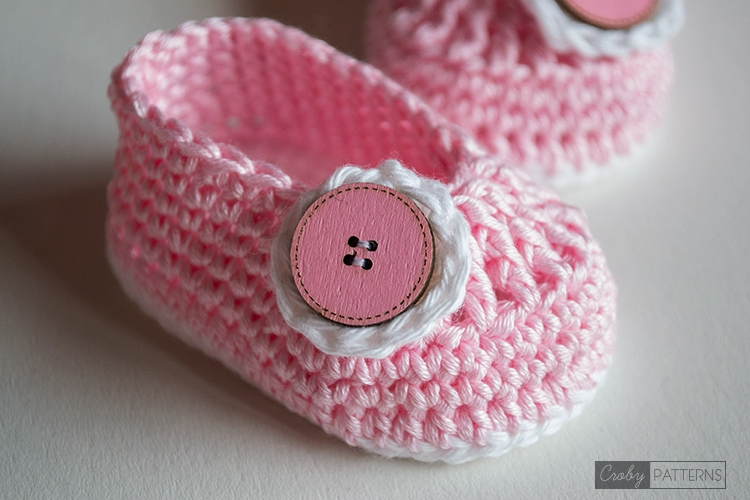 Princess Smile baby Booties