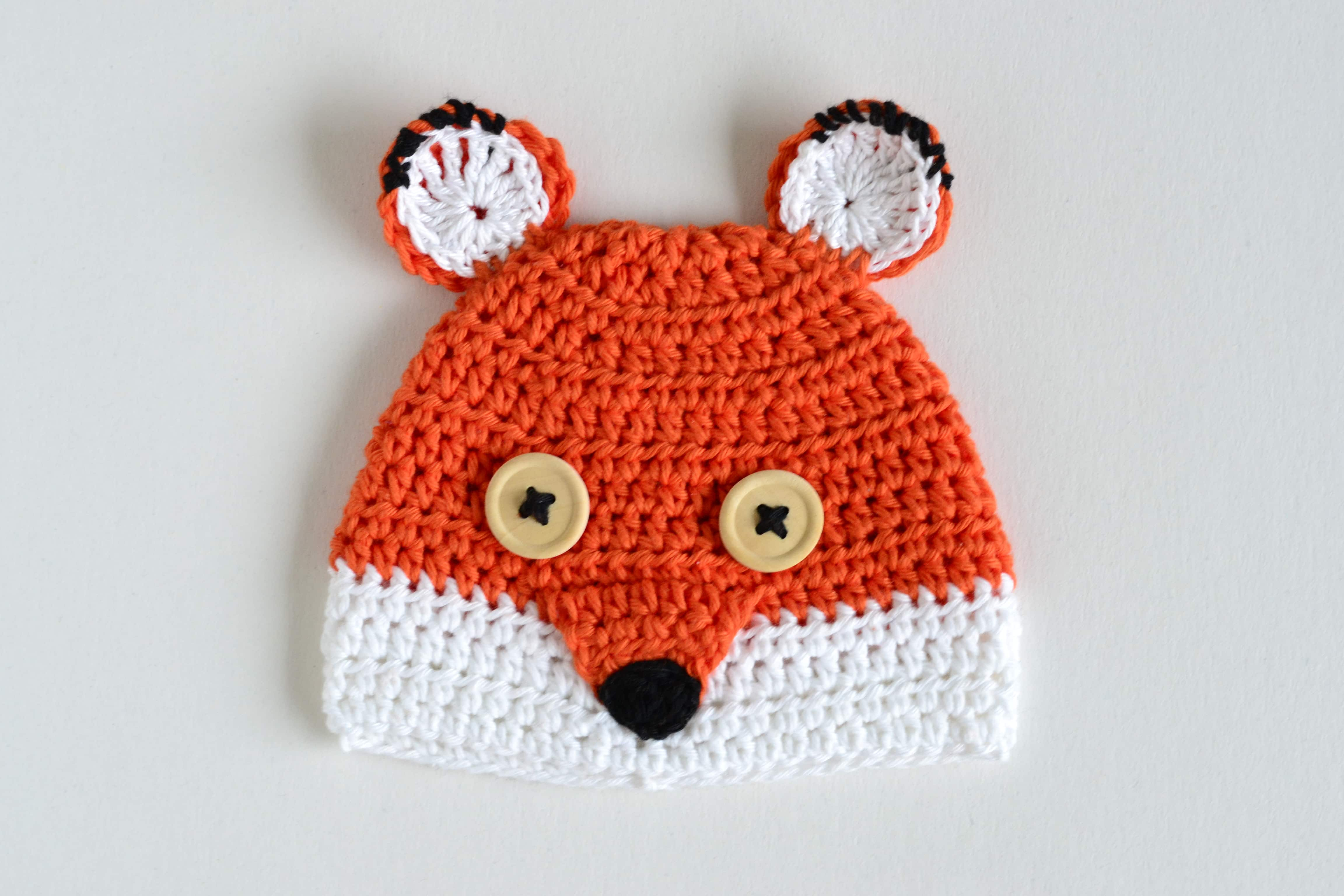 Croby Patterns - FREE Crochet Pattern - Cute Fox 916b4983330