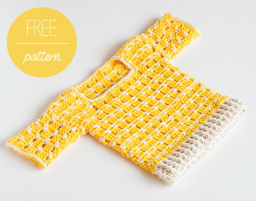 Free Crochet Pattern Crochet Baby Sweater Summer Sun Croby Patterns