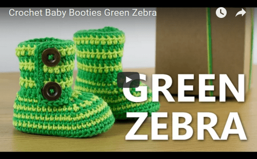 Green Zebra by Croby Patterns