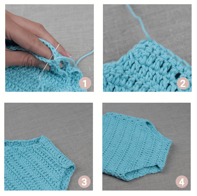 How To Make A Crochet Baby Romper Croby Patterns