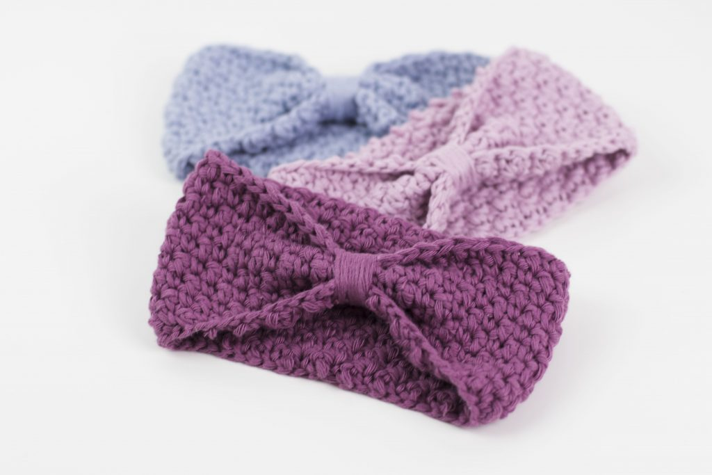 Free Pattern Super Easy Crochet Headband Croby Patterns
