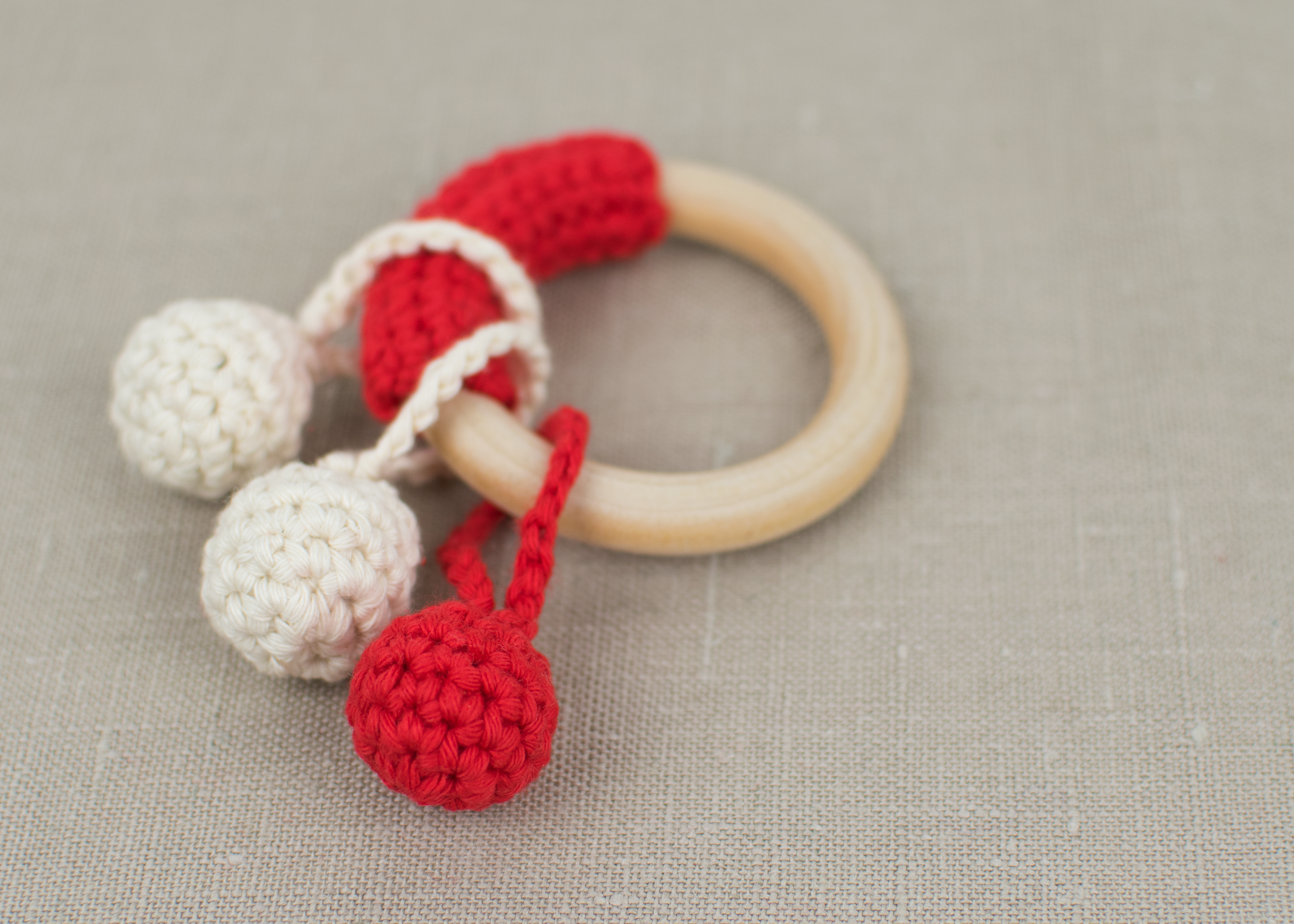 Diy Crochet Teething Ring Croby Patterns