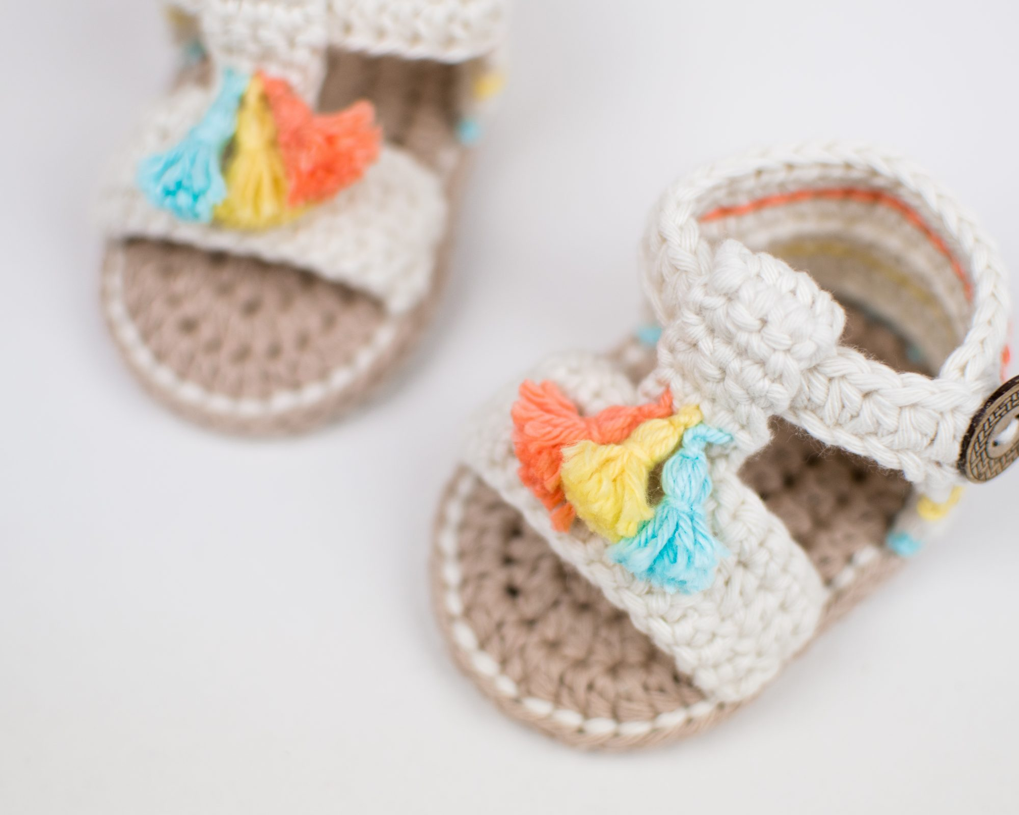 Crochet Baby Boho Sandals Croby Patterns