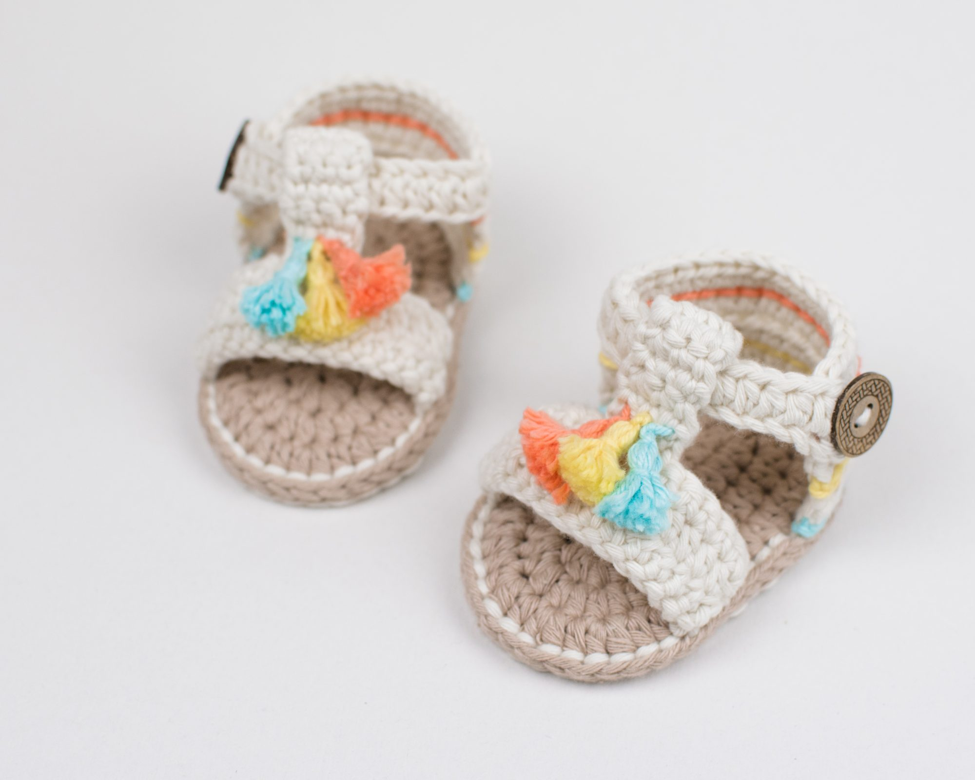 super specials united kingdom exclusive deals Crochet Baby Boho Sandals | Croby Patterns