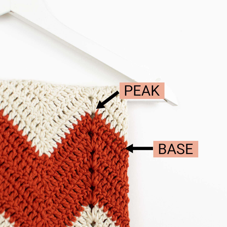 Zig Zag Crochet Baby Blanket Free Pattern Croby Patterns